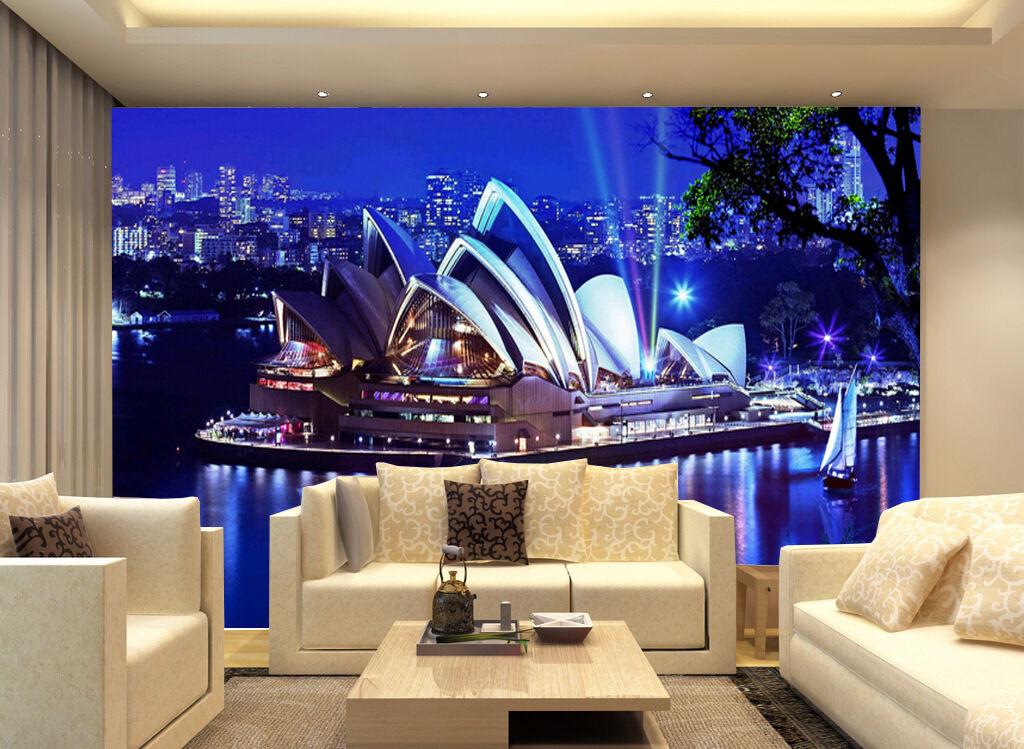 3D Sydney building 4696 Paper Wall Print Decal Wall Wall Murals AJ WALLPAPER GB