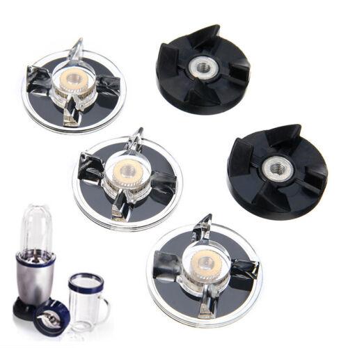 5tlg Gummi Gear Mixer Standmixer Schneidmesser für Bullet Ersatzteile