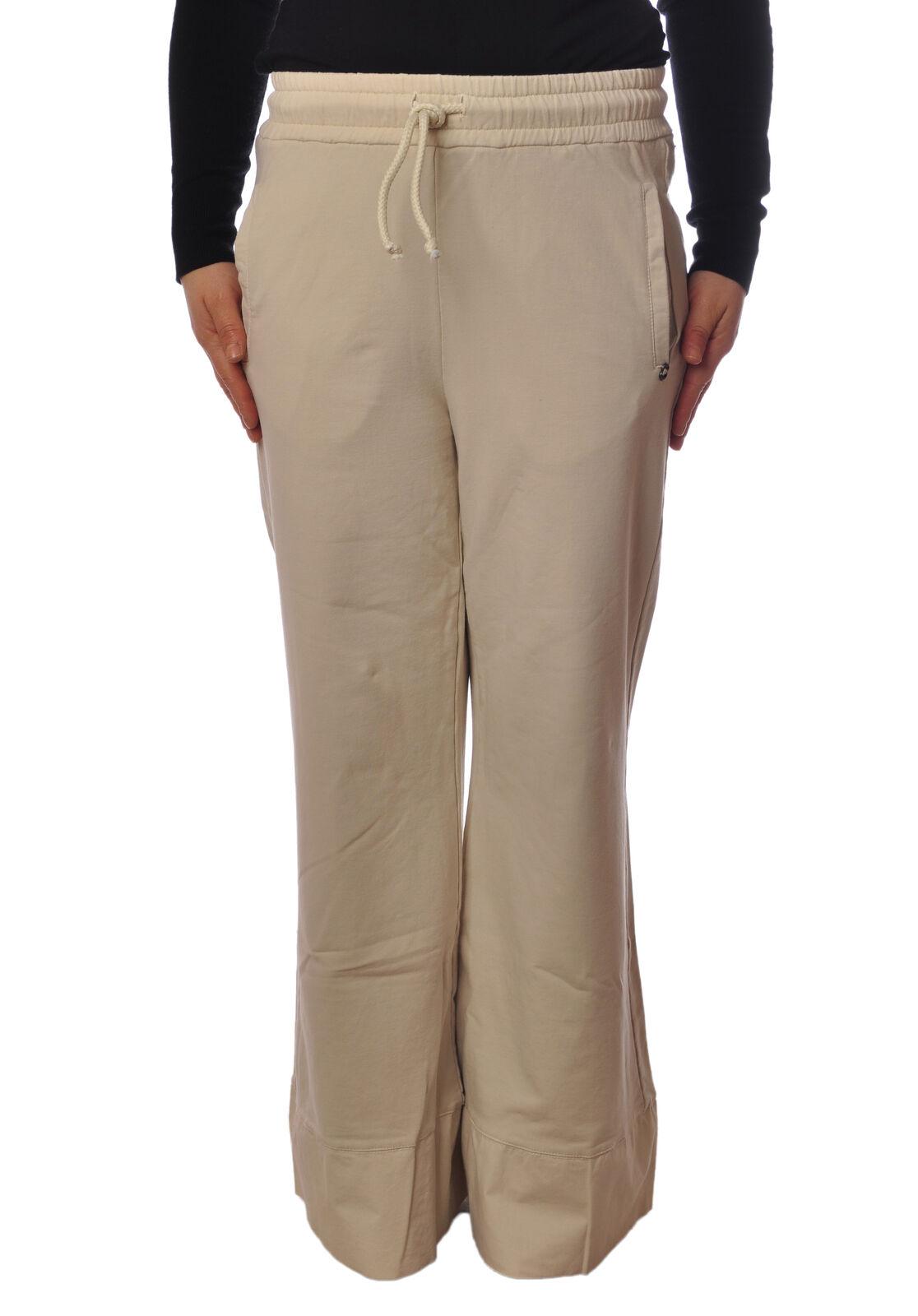 Ottod'ame - Pants-Pants - Woman - Beige - 4971026E184503