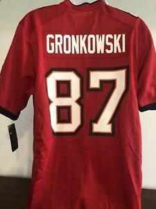 gronkowski on field jersey