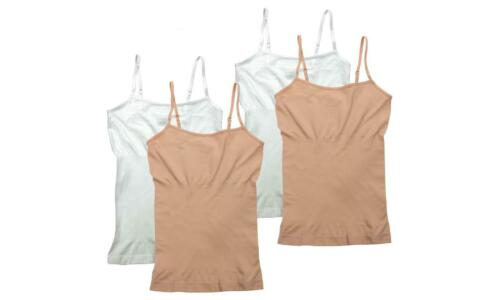 Body Shaper Camisole for Women 4-pack Stretch Breathable Slim Fit