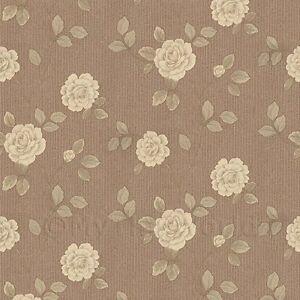 Maison-de-poupees-miniature-creme-d-039-escalade-Rose-Papier-peint