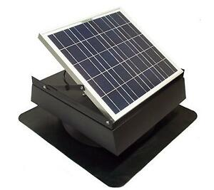 30w Solar Attic Fan 30w Solar Thermostatic Roof
