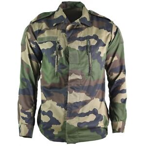 Genuine-French-army-F2-combat-jacket-fatigue-CE-camo-military-issue-surplus-NEW