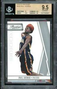 Paul George Rookie Card 2010-11 Prestige #220 BGS 9.5 (9 9.5 9.5 10)