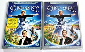Rodgers-amp-Hammerstein-THE-SOUND-OF-MUSIC-DVD-2-Blu-Ray-2010-20th-Fox-NUOVO
