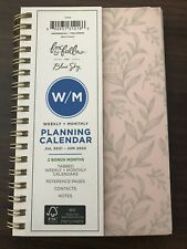 2021 2022 Weekly Monthly Calendar Planner Organizer Small Academic Pink Floral