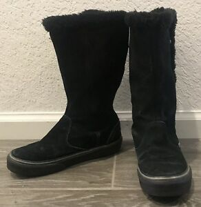 vans boots with fur