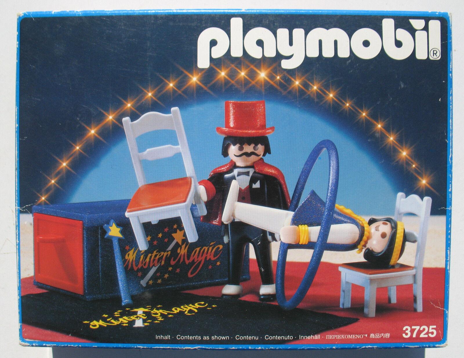PLAYMOBIL 3725-Circo Mago mago-Circus MR MAGIC - 1991-NUOVO-NEW MISB