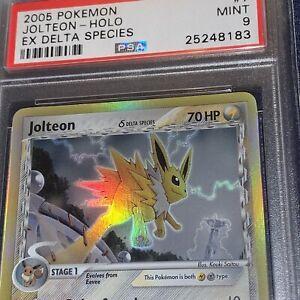 2005-Pokemon-Ex-Delta-Species-Jolteon-Holo-7-PSA-9-Mint