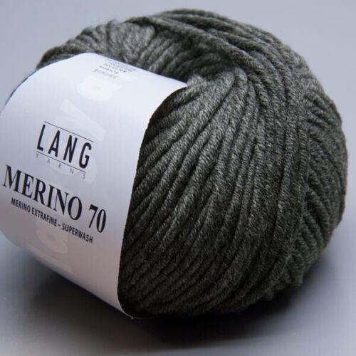 Lang Yarns Merino 70-5 LL 70m 50g Nadelstärke 6-7
