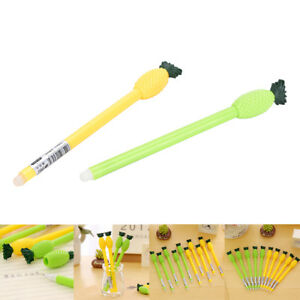1Pc-Cute-Cartoon-pine-0-5mm-Erasable-RollerBall-Pen-Gel-Pen-Black-Ink-FF