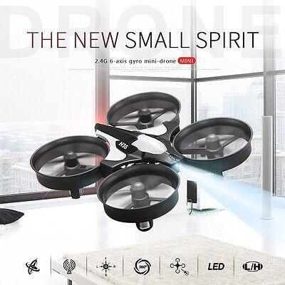 JJRC H36 Mini Drone 6 Axes GYRO RC Quadcopter sans Tête Un Retour Clé Gris