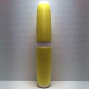 Candlepin-Bowling-Pin-Colored-Brand-New-Yellow-Candlepin-With-White-Marker