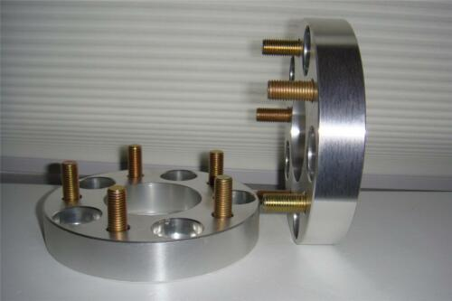 """to 5 x 4.5/"""" 12mm studs 1 Pair 5 lug adapters 1/"""" Wheel Spacers 5 x 4.5/"""" 114.3mm"""