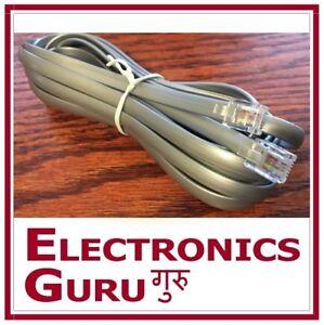 6 PINS STRAIGHT CABLE REMOTE WIRE CONTROL LEGGETT /& PLATT ADJUSTABLE BED SILVER