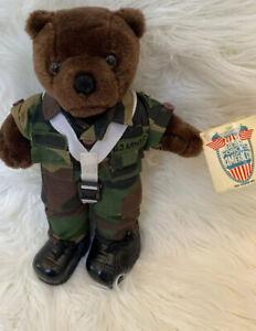 IRA-Green-Bear-Forces-Of-America-U-S-Army-Mini-Bear-EUC-Military-Tags