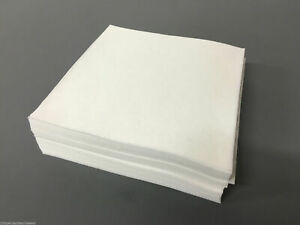 100-x-White-Pre-Cut-Squares-Heavyweight-Embroidery-Stabiliser-Backing-Cut-Away