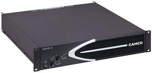 Actif Camco Vortex 6 Amplificateur De Puissance Pour Nexo L'acoustics 110 V W L5-30 Plug 6600 W #4-afficher Le Titre D'origine