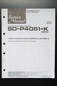 [SCHEMATICS_48IU]  Pioneer SD-P4051-K Original Service Manual/Instruction/Wiring Diagram! O1 |  eBay | Sd Wiring Diagram |  | eBay