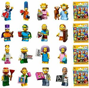 LEGO SERIES  ~ SIMPSONS 1 AND 2 ~  MINIFIGURES .. CHOOSE YOUR FIGURE