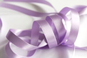 3m or 5m lengths Orchid 910 Berisfords Double Satin Ribbon 10mm width