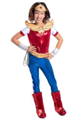 DC SuperHero Girls Premium Wonder Woman™ Super Hero Kids Costume 5 6 7 8 9 10 12