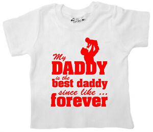 Dirty-Fingers-My-Daddy-is-the-best-Daddy-Father-039-s-Day-Baby-T-shirt