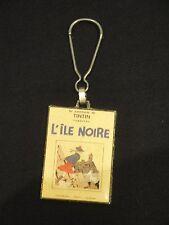 Hergé –    Tintin « L' Île noire »  – porte clés Corner Coinderou