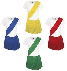 Femmes sports scolaires jour pe kit de jeunes agriculteurs fancy dress costume yfc