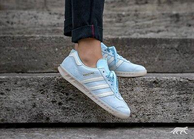 Adidas Originals Womens Hamburg Fashion Trainers Ice Blue BNIBWT Sizes UK 4 - 7