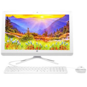 "NEW HP All-In-One 19.5"" Intel J3060 2.48GHz 4GB RAM 500GB HDD DVD Webcam Win 10"