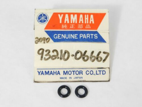 2 pack of NOS Genuine YAMAHA Factory Rubber O-RING Parts OEM 93210-06667 NEW