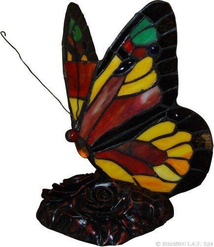 Lampada da appoggio a forma di farfalla per scrivania comodino soggiorno