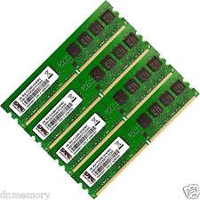 4GB(4x1GB) DDR2-667 PC2-5300 5300U Non-ECC DIMM Memory RAM 4 Desktop PC 240-pin