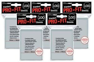 500-ULTRA-PRO-Soft-Card-Sleeves-PRO-FIT-MTG-Pokemon-STANDARD-Deck-Size