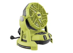 Ryobi-One-18V-Portable-Misting-Fan-Skin-Only-2-speed-settings