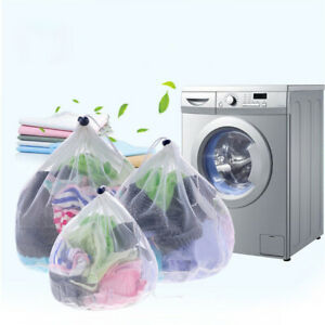 US/_ Mesh Bra Washing Bag Classified Clothes Underwear Cleaning Protection Po HB