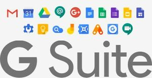 G-Suite - Domain name with 2000 users for Google apps (G Suite 30 GB)