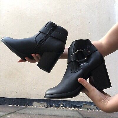 Debenhams Black Ankle Boots UK Size 7