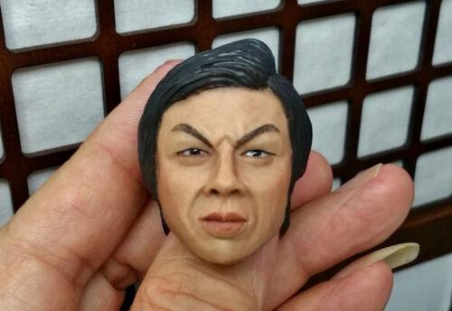 1//6 BOLO Head sculpt Bruce Lee IP man 3 Jet Li Muscle Body Clothing Enterbay CY
