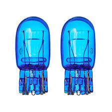 2x DRL W21/5W T20 580 7443 Luz Lateral Bombillas De Cristal Azul 5000k Doble Filamento Xenon
