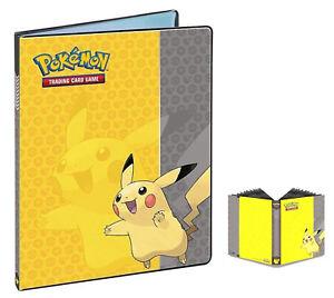 New-Ultra-Pro-Pokemon-PIKACHU-Album-Collection-Card-Binder-Portfolio-Holder