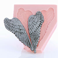Wing Silicone Mold Flexible Food Safe Angel Wing Mold Craft Resin Jewelry (826)