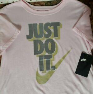 Nike Girls Short Sleeves Tee Shirt Youth New
