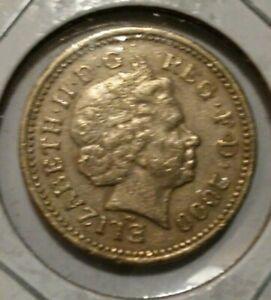 queen elizabeth one pound coin