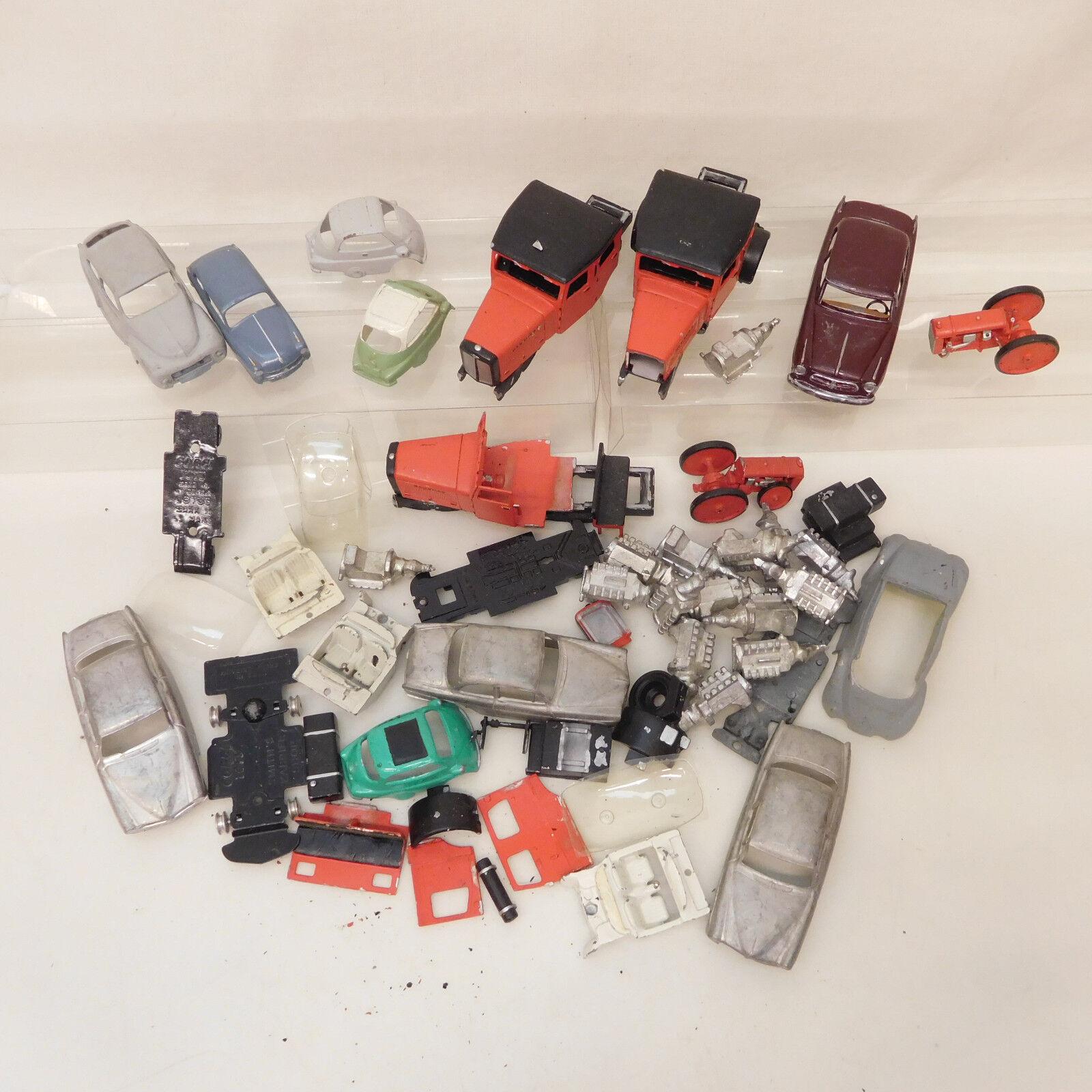 Mes-60917 1:43 Auto/Camion pezzi di ricambio metallo, senza confezione originale,