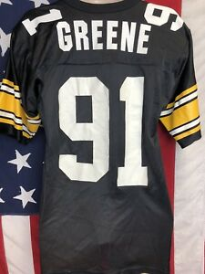 ef2491d46e6 Image is loading Vintage-Russell-NFL-Pittsburgh-Steelers-KEVIN-GREENE-91-