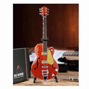 Brian Setzer Nashville Mini Hollow Body Guitar Replica Gift Box Collectible