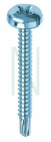 50 viti autoperforanti TC a croce Ø 4,2x19 mm testa cilindrica acciaio